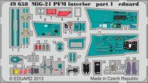 MiG-21PFM interior- Eduard