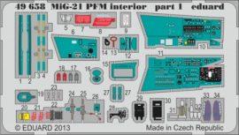 MiG-21PFM interior - 1/48 - Eduard