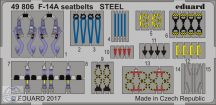 F-14A seatbelts STEEL