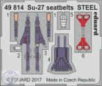 Su-27 seatbelts STEEL - 1/48