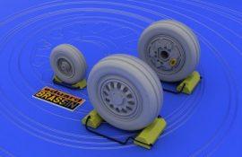 F-16 late wheels  - 1/48 - Kinetic