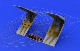 F-16 air brakes - Tamiya - 1/48