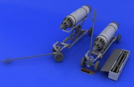 Rocket launcher B-8M1 and loading cart - 1/48