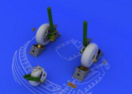 Su-27 wheels - 1/48