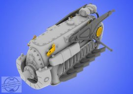 DB 601 A/N engine - 1/48 - Eduard