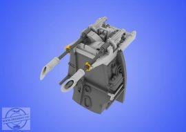 Bf 109E MG 17 mount - 1/48