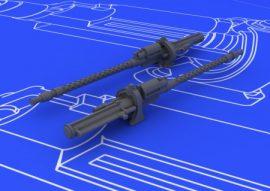 MG 17 German WWII guns - 1/48