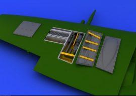 Spitfire Mk. IX gun bay - Eduard