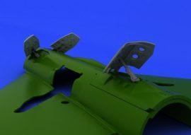 MiG-21PF/ PFM/ R airbrakes  - 1/48 - Eduard