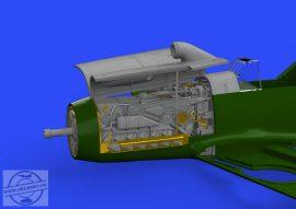 Bf 109F engine & fuselage guns. -1/48 - Eduard