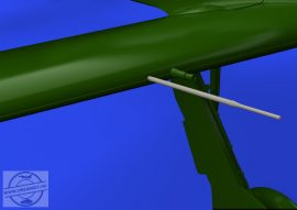 Fw 190A Pitot tubes early