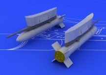 S-21 Soviet unguided rocket - Airfix/ Eduard