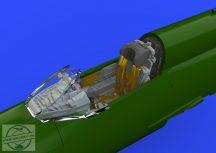 MiG-21MF cockpit late . - Eduard