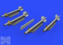 R-3S missiles w/ pylons for MiG-21 - Eduard