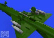 UB-16 rocket launchers w/ pylons for MiG-21  - Eduard