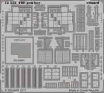 F6F gun bay - Eduard