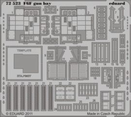 F6F gun bay -  1/72 - Eduard