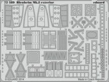 Blenheim Mk.I exterior - 1/72 - Airfix