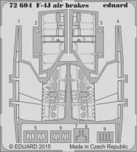 F-4J air brakes - Academy