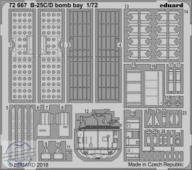 B-25C/D bomb bay - 1/72 - Airfix