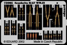 Seatbelts RAF WWII