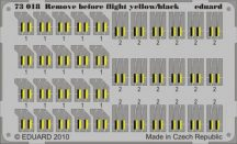 Remove Before Flight - yellow/black