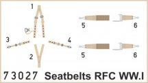 Seatbelts RFC WWI SUPERFABRIC - 1/72