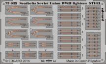 Seatbelts Soviet Union WWII fighters STEEL