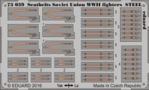 Seatbelts Soviet Union WWII fighters STEEL - 1/72