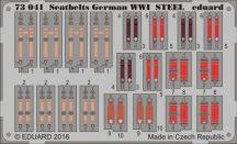 Seatbelts German WWI STEEL