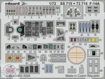 F-14A Tomcat- 1/72 - GWH (2 lapot tartalmaz)