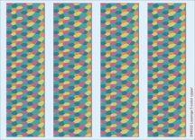 Lozenge 5-color upper 1/48