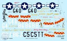 P-51D-5 - 1/48 (5 géphez)