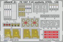 F-4C Phantom seatbelts STEEL - 1/48