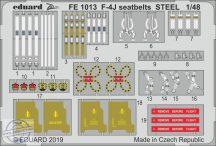 F-4J seatbelts STEEL - 1/48