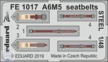 A6M5 Zero seatbelts STEEL - 1/48