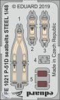 P-51D seatbelts STEEL - 1/48