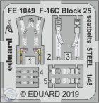F-16C Block 25 seatbelts STEEL 1/48 - Tamiya