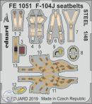 F-104J seatbelts STEEL - 1/48