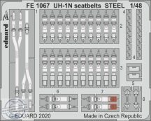 UH-1N seatbelts STEEL - 1/48