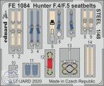 Hunter F.4/ F.5 seatbelts STEEL  - 1/48