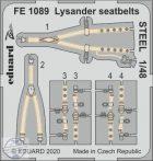 Lysander seatbelts STEEL - 1/48