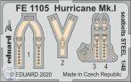 Hurricane Mk.I seatbelts STEEL - 1/48