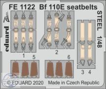 Bf 110E seatbelts STEEL - 1/48