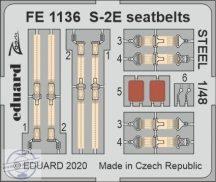 S-2E seatbelts STEEL - 1/48