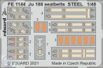 Ju 188 seatbelts STEEL - 1/48