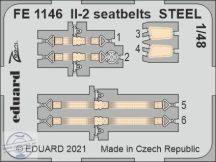 Il-2 seatbelts STEEL - 1/48