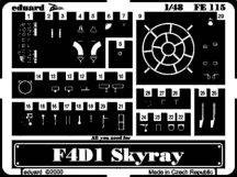 F4D-1 Skyray-Tamiya