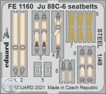 Ju 88C-6 seatbelts STEEL - 1/48