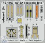 AV-8A seatbelts late STEEL -1/48